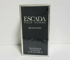 Escada Pour Homme Silver Light Eau de Toilette 2.5oz Spray, Discontinued