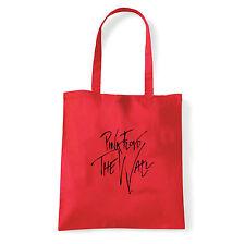 Art T-shirt, Borsa  Pink Floyd The Wall Firma, Rossa, Shopper, Mare