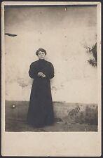 YZ0434 Ritratto di Donna - Fotografia d'epoca - Vintage photo