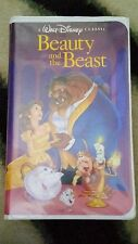 Beauty and the Beast (VHS, 1992) Walt Disney Black Diamond Classic