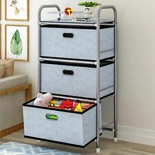 Multi function Drawers Dresser Cabinet Bedroom Toy Clothes Storage Shelf