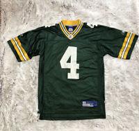 Brett Favre Green Bay Packers Jersey - Reebok NFL On Field Jersey - Medium