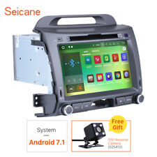 Android 7.1 Auto Radio DVD Player GPS Stereo Navigation for Kia Sportage 10-2013