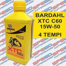 BARDAHL XTC C60 15W-50 OLIO MOTO 4T SYNTEHETIC SPECIAL OIL POLAR PLUS FULLRENE