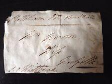 SAMUEL CHARLES WHITBREAD - M.P. & BREWER  - SIGNED ENVELOPE FRONT
