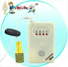 Bedwetting Alarm - Nocturnal Enuresis Alarm + Wet Diaper Detector - White
