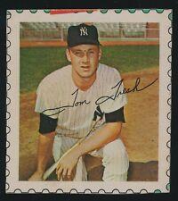 1964 Wheaties Baseball Stamp Album BOX CARD -Tom Tresh *NEAT GO-Along Item*