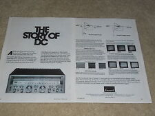 Sansui 1978 Ad, 2 pages, G-6000, Articles, Info, Beautiful!