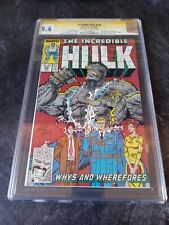 THE INCREDIBLE HULK #346 CGC 9.4 TODD MCFARLANE FULL SIGNATURE *DON'T MISS OUT*