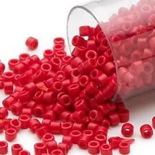 DB0791 Miyuki Japanese Delica Seed Beads #11 7.5g Apple Red *UK EBAY SHOP*