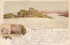 Postkarte - Rigi Kulm