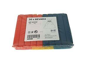 30 x IKEA Food Bag Storage Clips Bevara Freezer Bag Sealing Clips