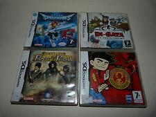 Lot 4 jeux garçon NINTENDO DS 3DS Prince of Persia Di-Gata American Dragon Spect