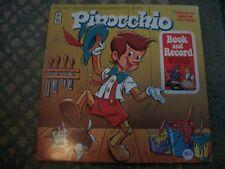PINOCCHIO---BOOK AND RECORD    VINYL ALBUM