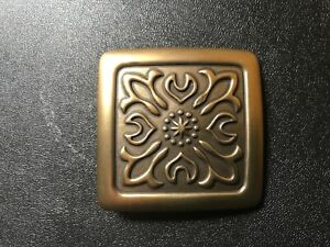 Rare,vintage tribal,ethnic,Anglo Saxon,Viking,medieval belt buckle .Brass plaite
