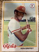 1978 TOPPS #80 KEN GRIFFEY Cincinnati Reds