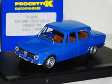 ALFA ROMEO GIULIA 1300 TI STRADALE 1969 AZZURRO / BLUE PROGETTO PK 5004B 1:43