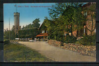 Ansichtskarte - Jena - Thüringen - Forsthaus - Kriegerdenkmal 1930