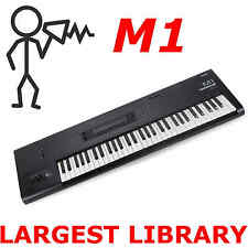 Korg M1 M1rex M1ex + Legacy M1 15,000 Sounds Programs Patches Largest Library