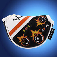 Big Teeth Bomb Golf Mallet Putter Cover Headcover For Odyssey Ping Mid Putters