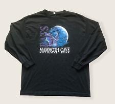 New listing Vintage Mammonth Cave national park bats longsleeve Black Long Sleeve Size xL