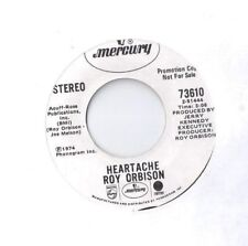 ROY ORBISON Heartache / Sweet Mama Blue 45 RECORD RARE DJ PROMO WLP