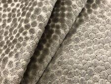 Kravet Couture Cut Velvet Uphol Fabric- Polka Dot Plush Mushroom 2 yds 32972-116
