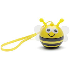 KitSound Mini Buddy Portable Rechargeable Wired Speaker For Smartphones - Bee