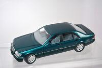 Mercedes S-Klasse, grün, M 1:24 Rarität Selten Schabak Originalverpackung!