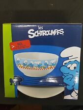 The Smurfs Schtroumpfs Céramique Céréale / Soupe / Petit Déjeuner Bol