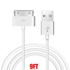 9Ft 30 pin to USB Sync Data Charging Charger Cable for iPad1 iPad2 iPad3 iPhone4