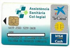 2 older Visa Cash cards, Spain La Caixa vc37 & Thailand One Plus, 7 Eleven vc55