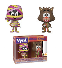 SDCC 2018 Funko Exclusive: VYNL. Monster Cereals - Yummy Mummy & Fruit Brute