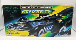 BATMAN FOREVER Electronic Batmobile - 1995 Kenner - Working