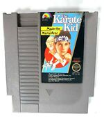 Karate Kid ORIGINAL NINTENDO NES GAME Tested WORKING Authentic!