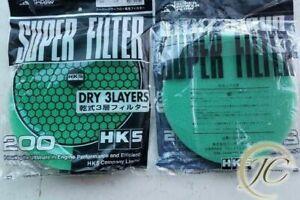 HKS air filter HKS POWER FLOW HKS REPLACEMENT AIR FILTER FOAM HKS INTAKE FILTER