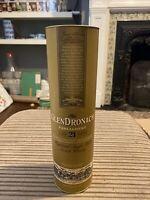 Empty Glendronach 700ml 21 year old Single Malt Whisky Box Display Case Upcycle