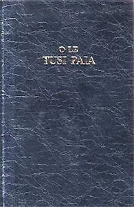 O Le Tusi Paia - Large Print Samoan Revised Reference Bible - Black, Hardcover