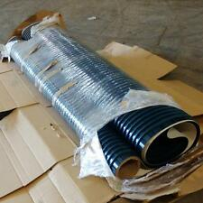 "10' X 86"" RIBBED RUBBER CONVEYOR BELT"