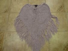 WOMENS LAVENDER PURPLE SHAW WITH FRINGE BY COOL LINE LTD.  **SO PRETTY**