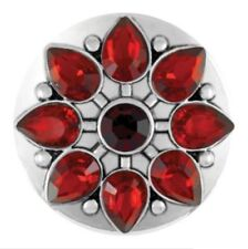 """Ginger Snapsâ""""¢ Jewelry Marbella Red - Sn15-52 Buy 4, Get 5Th $6.95 Snap Free"""