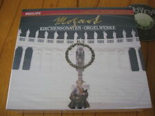 2 CD BOX Mozart Kirchensonaten Orgelwerke Chorzempa Winschermann 1991 SEALED