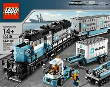 Lego 10219 MAERSK Cargo Train NEW FACTORY SEALED RETIRED