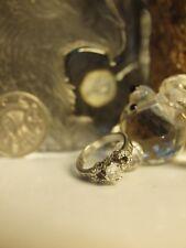 UNIQUE / SOLID PLATINUM NATURAL DIAMOND RING 0.55 CARAT WITH GEMMOLOGICAL REPORT