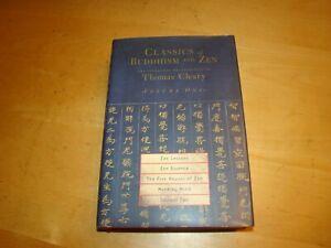 CLASSICS BUDDHISM ZEN LESSONS ESSENCE MIND 2001 THOMAS CLEARY VOL.1 HC DJ 1ST ED