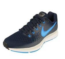 Nike Air Zoom Pegasus 34 UK SIZE 7.5 BLUE/GUNSMOKE MENS RUNNING SHOES RRP £99.95