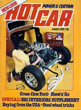 HOT CAR MARCH 1980-OHV CROSSFLOW FORD SHOW & GO-MODEL B TRUCK-TRIKE-LARRY WATSON