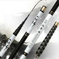 2.7M-7.2M Hard Carbon Fiber Telescopic Fishing Rods for Stream Carp Fishing Pole
