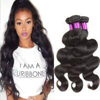 1/3/4 Packs Brésilien Body Wave 100% Extensions de cheveux vierges Humains Trame