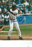 MLB Baseball Damion Easley Tigers Angels autographed signed 8x10 photo w/COA